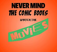 Never Mind The Comic Books by amanoxford