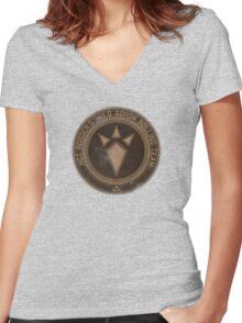 Hot Rodder's Wild Goron Rolling Team Women's Fitted V-Neck T-Shirt
