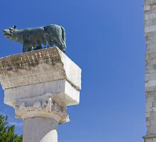 Roman She-Wolf at Aquileia by Emmeci74