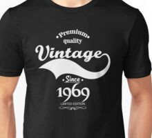Premium Quality Vintage Since 1969 Limited Edition Unisex T-Shirt
