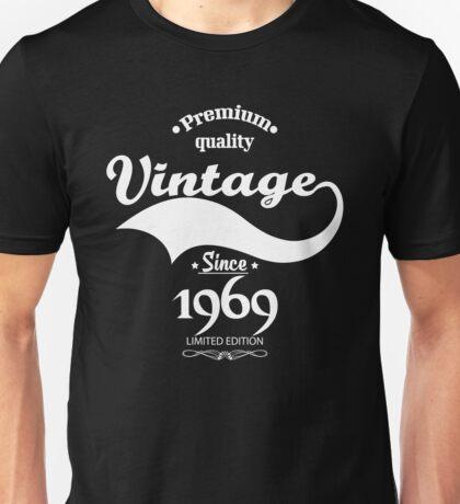Premium Quality Vintage Since 1969 Limited Edition Unisex T-Shirt