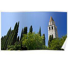 Basilica of Aquileia Poster