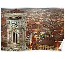 Giotto's Campanile Poster