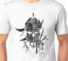 Voodoo Black and White Unisex T-Shirt