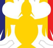 Romania Phoenix Sticker