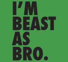 Beast As Bro (Black) by Levantar