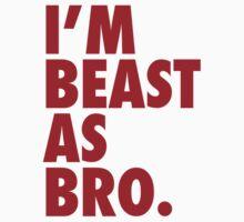 Beast As Bro (Red) by Levantar