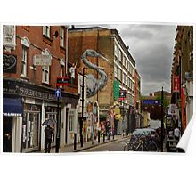 Urban painting Poster