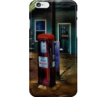 Old Mobil Gas Pump iPhone Case/Skin