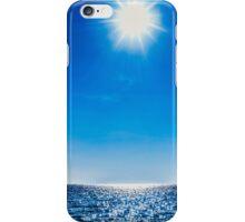 Sun, water, sky iPhone Case/Skin