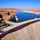 Glen Canyon dam by Nancy Richard