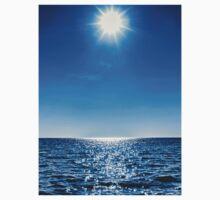 Sun, water, sky Kids Tee