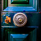 Antique door latch by RichardPhoto