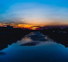 Sunset in Chiclana by RichardPhoto