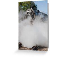 Steam,Smoke & More Steam Greeting Card
