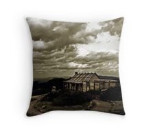 """Craig's Hut, """"The Man from Snowy River"""" Throw Pillow"""