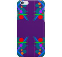 Abstract Splash of colours iPhone Case/Skin