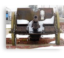 Cold Cannon Metal Print