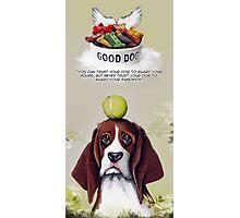 Beagle Quote Photographic Print
