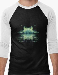 Dark Ship - Cover Men's Baseball ¾ T-Shirt