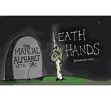 Death Hands Book Cover Photographic Print