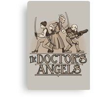The Doctor's Angels Canvas Print