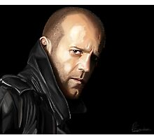Jason Statham portrait I Photographic Print