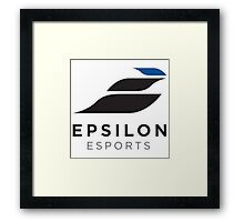 Team Epsilon Framed Print