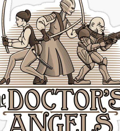 The Doctor's Angels Sticker