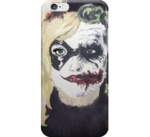 The Jokes on you Harley iPhone Case/Skin