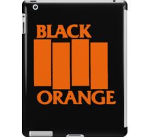 Orange & Black Flag iPad Case/Skin