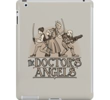 The Doctor's Angels iPad Case/Skin