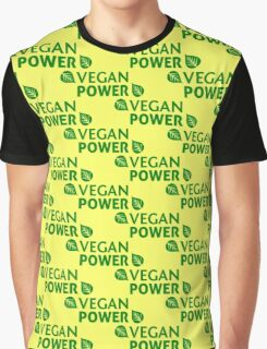 Vegan Power Graphic T-Shirt