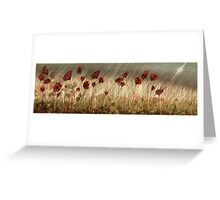 Summer Storm Greeting Card