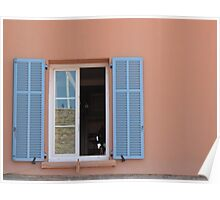 French Window Poster