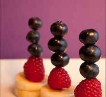 Fruit Sculpture 3 by lindsaykachic