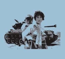 Korean War Refugees Kids Tee
