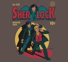 Sherlock Comic One Piece - Short Sleeve