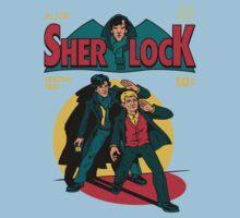 Sherlock Comic Kids Clothes