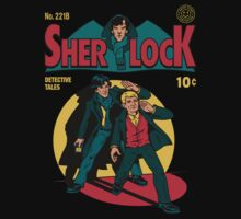 Sherlock Comic Kids Clothes
