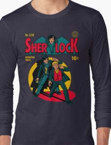 Sherlock Comic Long Sleeve T-Shirt