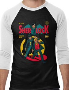 Sherlock Comic Men's Baseball ¾ T-Shirt