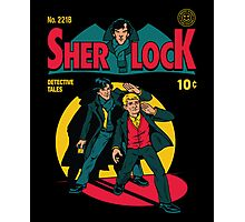 Sherlock Comic Photographic Print