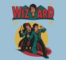 Wizard Comic Baby Tee