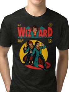 Wizard Comic Tri-blend T-Shirt