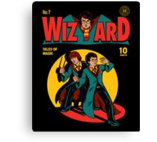 Wizard Comic Canvas Print