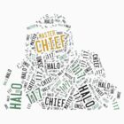 Master Chief Wordart by ToxicTurtles