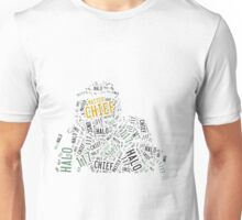 Master Chief Wordart Unisex T-Shirt