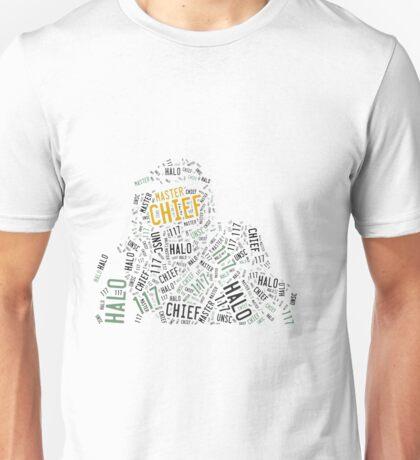 Master Chief Wordart Unisex T-Shirt