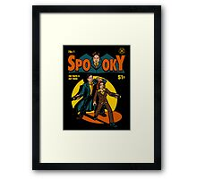 Spooky Comic Framed Print